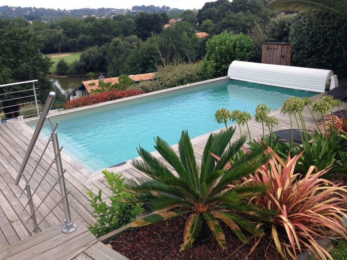 Mettre Piscine Sur Terrain En Pente piscine bois - 40 64