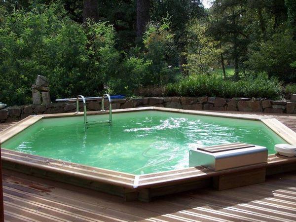 Amenagement piscine bois semi enterree perfect beautiful for Piscine alain bernard aubagne